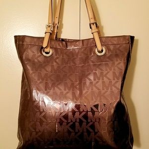 Michael Kors Tote bag purse Metallic